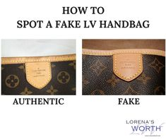 LOUIS VUITTON: Do you know how to spot a fake vs. - Prime to Know Louis Vuitton Handbags 2017, Lv Handbags, Louis Vuitton Neverfull, Real Louis Vuitton Bag, Sacs Louis Vuiton, Fake Designer Bags, Lacoste, Cross Body Handbags, Authentic Louis Vuitton