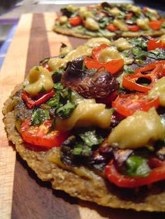 1000+ images about Raw Vegan Pizza Buckwheat on Pinterest ...