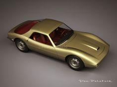 1965 DKW GT Concept by Ario Rocha