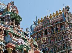 Le Temple de Kapaleeshwararà Chennai, Inde. http://www.lonelyplanet.fr/article/les-10-villes-visiter-en-2015 #Temple #Kapaleeshwararà #Chennai #Inde #voyage #2015