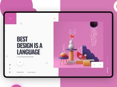 Best Design Is a Language designed by Alex. Connect with them on Dribbble; the global community for designers and creative professionals. Online Web Design, Web Design Company, Web Design Tutorial, Leadership, Web Design Quotes, Creative Web Design, Website Design Services, Leader Quotes, Life Quotes Love