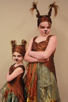 """Suessical Sour Kangaroo and Baby Kangaroo. Obviously not a literal costume. Love the look. (If you love Seussical, check out my novel """"Bit Players, Bird Girls and Fake Break-Ups"""".)"""