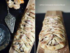 The Flourishing Foodie: Apple Cinnamon Danish Braid