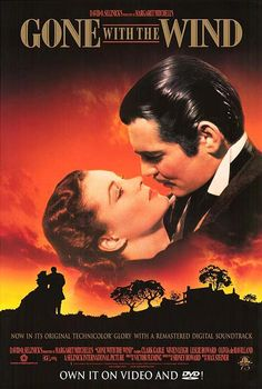 Gone With The Wind   Clark Gable & Vivian Leigh