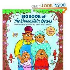 Berenstain Bears books. Wonderful books. My children loved them. Stan and Jan and the stories of their sweet family.
