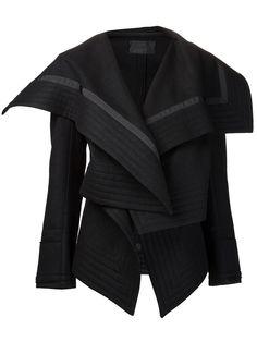 Podolyan Draped Collar Jacket - - Farfetch.com