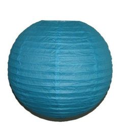 """Party Paper Lantern-Round 12""""-Luau Supplies- Oriental/Chinese Lamps - Aqua by IGC. $8.95. Size: 12"""" Diameter. Exceptional quality product at a very competitive price. Hand made Round Paper lantern. * Color as specified in the title & as pictured. Ideal for Decoration, wedding displays or Luau parties. An inexpensive way to decorate a Luau party, wedding etc. This size is available in 16 vibrant colors. Light Bulb & Wiring are NOT included."""