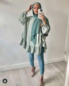 Teen Fashion Outfits, Modest Fashion, Hijab Fashion Inspiration, Hijab Outfit, Muslim Fashion, Ootd, Modest Outfits, Hijabs, Kurtis