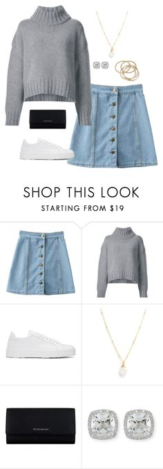 """""""save me (outfit 9)"""" by kierstin518 on Polyvore featuring Sally Lapointe, Jil Sander, Lotus Jewelry Studio, Givenchy, Frederic Sage and ABS by Allen Schwartz"""