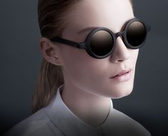 ENΛITE | Lakan Black with Platinum lens | Carl Zeiss Lens | Supernatural colection