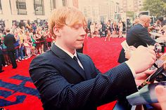 Rupert Grint at Harry Potter and the Deathly Hallows - Part 2: NY Premiere.