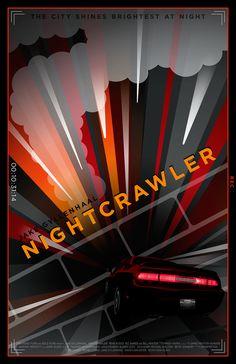 Nightcrawler - movie poster