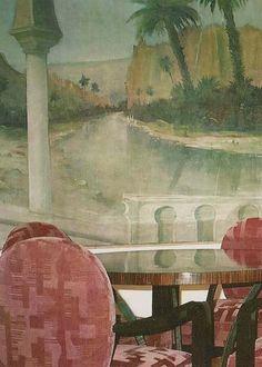 Artist Sergey Konstantinov Persian Room Painting Oil Canvas2003 San Francisco