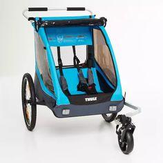 SILLAS PORTABEBÉS | Transportar hasta dos niños durante los paseos en bici y a pie. Baby Strollers, Children, Two Girls, Trailers, Baby Prams, Boys, Kids, Prams, Big Kids