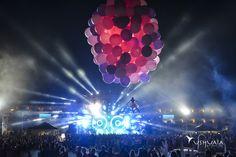 Amazing show at Ushuaia Ibiza with David Guetta. // Un escenario increíble con David Guetta en el Ushuaïa Ibiza.