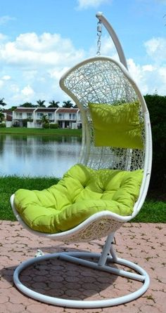 Endow Rattan Porch Swing & Stand