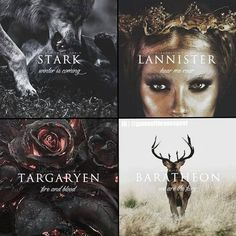 Which house is your favorite? . (The Baratheon slogan is supposed to be Our is the fury)