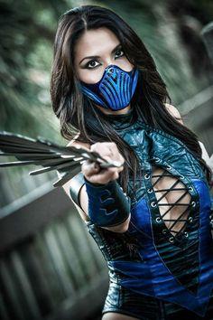 Kitana (Mortal Kombat) by KimChi Cosplay Mortal Kombat Cosplay, Mortal Kombat Costumes, Kitana Mortal Kombat, Jessica Nigri, Cosplay Anime, Cosplay Girls, Amazing Cosplay, Best Cosplay, Gi Joe