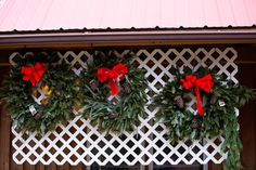 Wreath display nearly sold out!