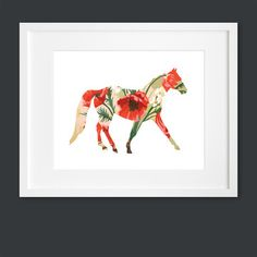 Horse Silhouette now featured on Fab.