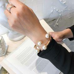 Page 5 – Zoppah.com   Zoppah online Fashion Bracelets, Bangle Bracelets, Bangles, Gift Sets For Her, Korean Design, Gold Fashion, Pearl White, Pearls, Color