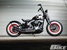 2009 #Harley Davidson Cross Bones With Exile Hotrod Makeover