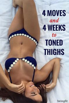 Simple and effective exercises for slim and toned thighs - no weights required.
