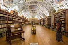 Prague Czech Republic Strahov Library