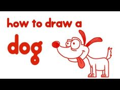 How to draw a dog? Simple step-by-step guide. For more how to draw videos visit http://mocomi.com/fun/arts-crafts/drawing-for-kids/ Subscribe to Mocomikids for free videos every week https://www.youtube.com/user/mocomikids