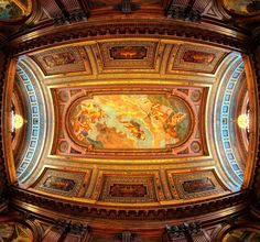 Beautiful ceiling in the New York Public Library just outside the main library hall. #nypl #newyork_instagram #newyorkpubliclibrary #wanderlust #landmark #nycphotographer #fisheye #sonyalpha #what_i_saw_in_nyc #places #architecture #commercialphotographer #danmleephotography #lensforhire #photojournalism #justgoshoot #art #nyc #ghostbusters #iloveny #design #workmanship #beautiful #newyorkcity #documentary
