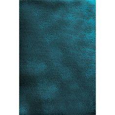 Hand-woven Arvika Teal Green New Zealand Wool Rug (5' x 8')   Overstock.com