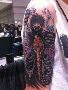 Sandman tattoo by Mijet