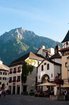 Fiesch, Valais in Switzerland
