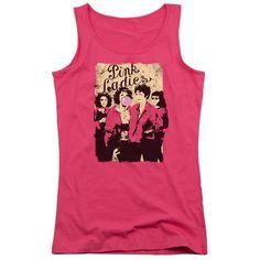 Grease: Pink Ladies Junior Tank Top