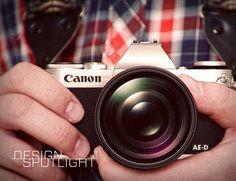 Design Spotlight: Canon AE-D Mirrorless Camera System Concept