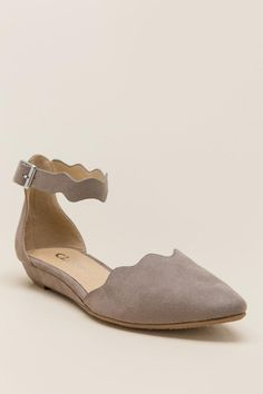 Cl by Laundry - Studio Scalloped D'Orsay Flat-blk-cl