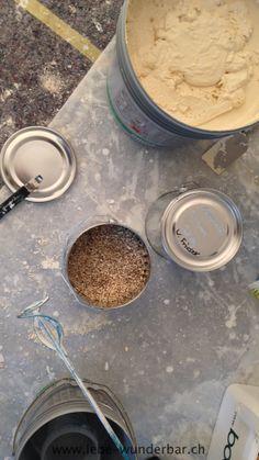 """making-of: natürliche grautöne - küchenrückwand """"wolfsgrau"""" in, Hause ideen"""