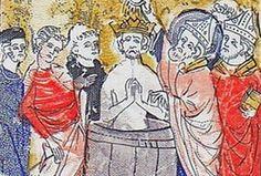 Clovis, roi des Francs (? 465-Paris 511), fondateur de la monarchie franque. Il succède en 481, à son père Childéric 1° comme roi des Francs Saliens et entreprend de regrouper sous son autorité toutes les tribus franques et tout le territoire de la Gaule.