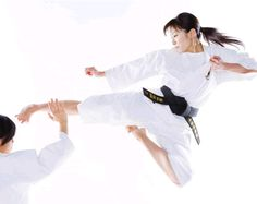 Kaori Kurita / Player of the Shorinji Kempo