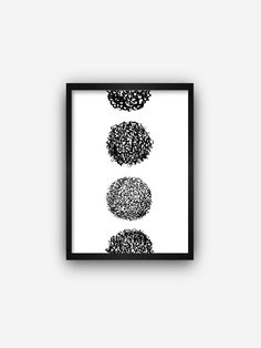 Minimalist geometric circle digital print | Printable art | Modern instant poster | Abstract art print | Wall art poster | Ink wall decor Watercolor Walls, Geometric Circle, Pebble Stone, Zen Art, Surface Pattern Design, Designing Women, Printable Art, Wall Art Prints, Digital Prints