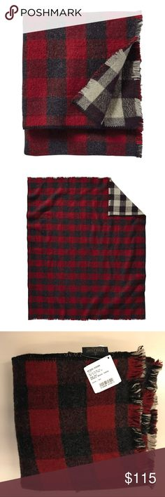 """NWT Pendleton rob Roy reversible wool throw weave Brand new with tags throw by Pendleton, this is a classic style called the 'rob Roy double weave wool throw' which is sold st Nordstrom. Perfect condition; receivers as a gift. Retail is $139. DETAILS:  A double-weave wool throw offers two color palettes to coordinate with your home or cabin décor. 50"""" x 60"""" 100% wool Dry clean Pendleton Accessories"""