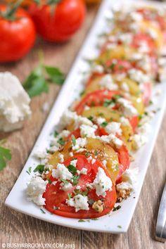 Summer Tomato Feta Salad