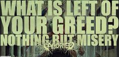 I love aborted, by far my favorite death metal/ grindcore band ☺️