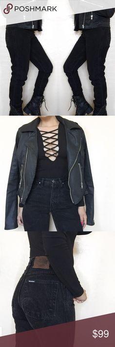 """• Harley Davidson • Vintage High Waisted Jeans H A R L E Y  D A V I D S O N   \\ 12"""" Waist  \\ 11"""" Rise  \\ 30.5"""" Inseam Harley-Davidson Jeans"""