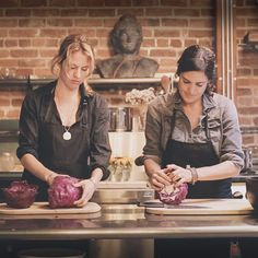 """""""Adina's Test Kitchen — A Life & Thyme Dinner."""" Life & Thyme hosted a dinner with Chef Adina Niemerow and Raw Chef Sarah Haugen at Adina's Test Kitchen in San Francisco, CA."""