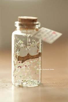 Wouldn't it be nice if we grew older together,Tiny message in a bottle,Personalised Gift,Valentine C