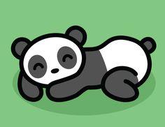 """Sleepy Panda"" by Brandi Miller"