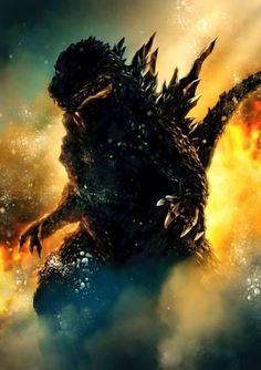 Godzilla 2000 Artwork.