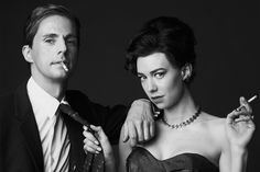 The Crown Exclusive: Vanessa Kirby and Matthew Goode as Princess Margaret and Antony Armstrong-Jones