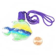 Tropical Fish Sand Art Bottle Necklace (24 total fish in 2 bags) 52¢ each